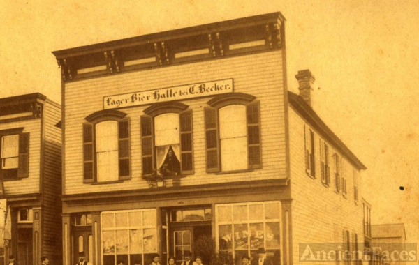 Becker Saloon, Illinois 1904