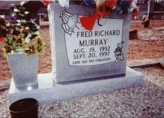 Fred Richard Murray Headstone