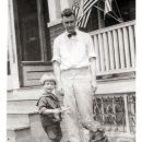 Milton Wilder Grinnell and son Graydon
