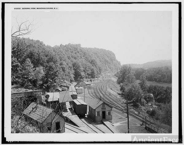 General view, Manunka Chunk, N.J.