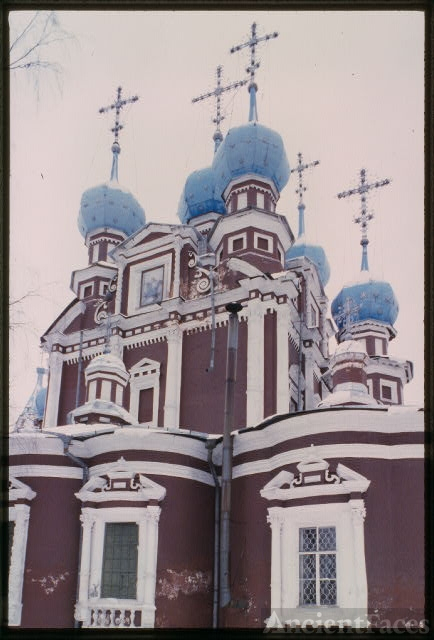 Church of the Kazan Icon of the Virgin (1694), east...