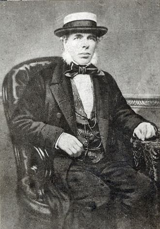 A photo of Benjamin Clapham