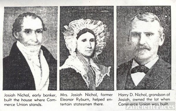 Josiah, Eleanor (Ryburn), & Harry Nichol, TN