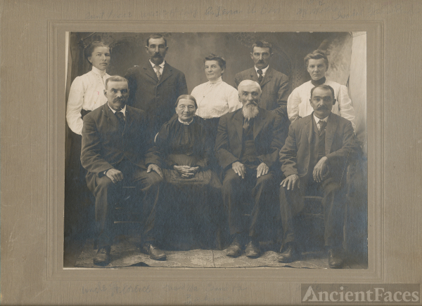 Zahm family, Nebraska