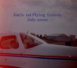Joe Wegner's 1st Flying Lesson