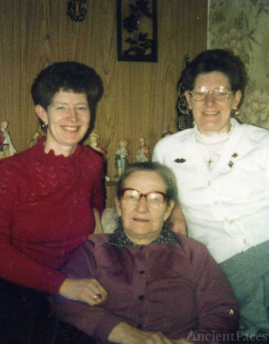 Lizzie Berry, June Sleeth, and Mary McGowan