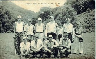 Guyan Ball Team, WV 1936