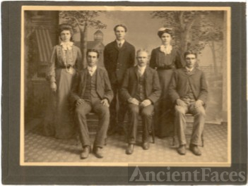 Mitchell Siblings group photograph
