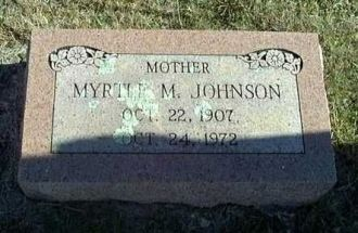 Myrtle May Brown Welton Johnson