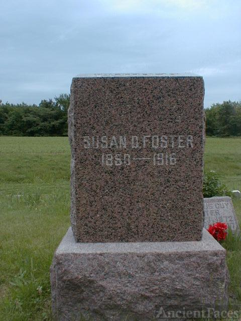 Susan Brown gravestone
