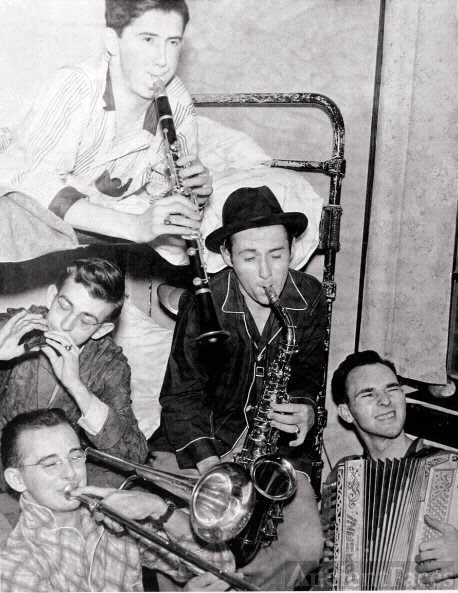 Fred Wagner & friends, Ohio, 1941