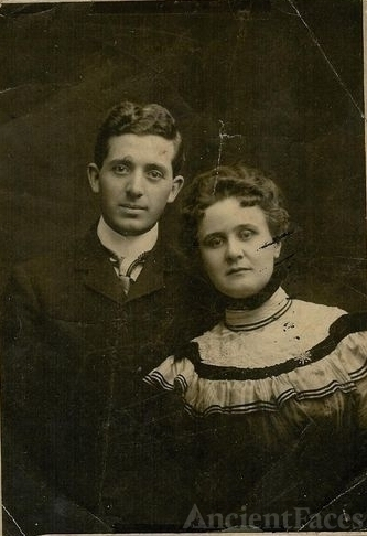 My Great Uncle Clyde Willard and his wife Amele