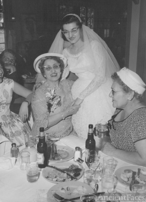 Sandy's Wedding, 1958 Rhode Island