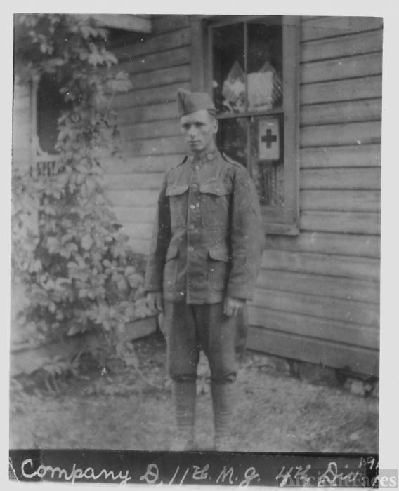 William Budd Mort, PA, World War 1