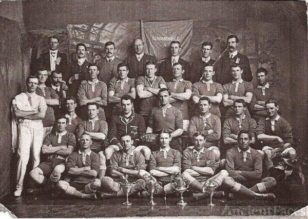 Coronation Rugby League Football Club 1911