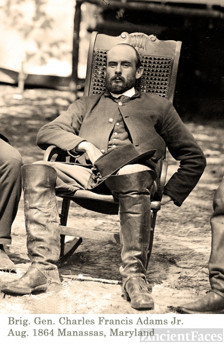 Colonel Charles Adams US Civil War