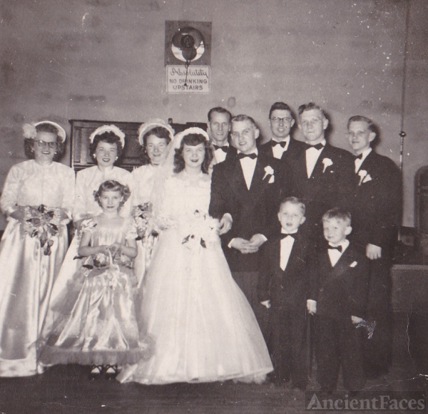Donald and Carol Nagel's Wedding Day