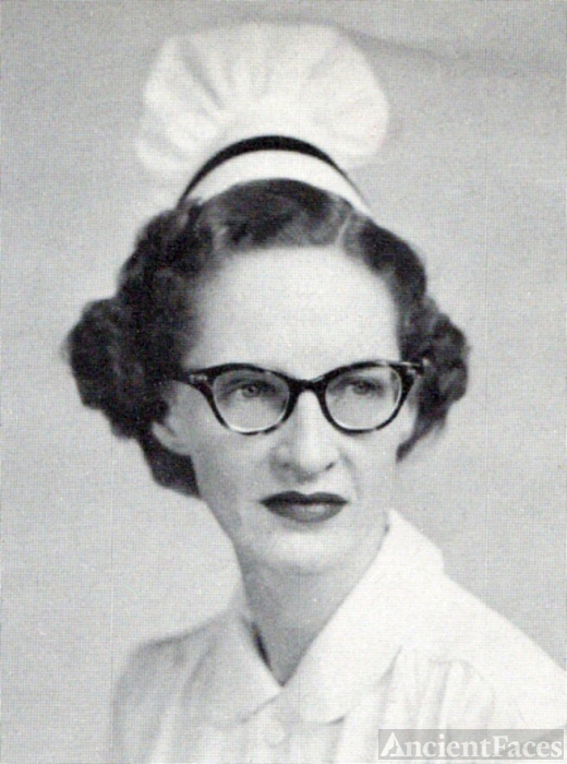 Miss Mary Carter, Kentucky, 1955