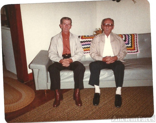 Henry & Paul Pippin, Kentucky 1982