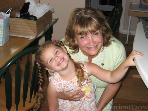 Carole A Wize & granddaughter