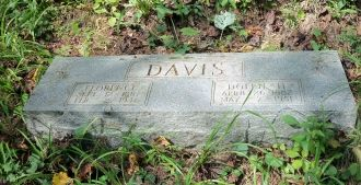 Dolph & Florence (Hatfield) Davis Grave, West Virginia