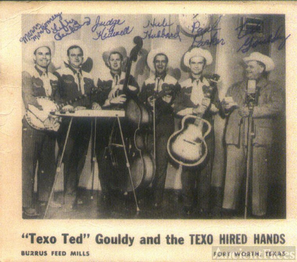 """Texo Ted"" Gouldy and the Texas Hired Hands"