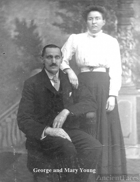 George & Mary (Porter) Young, New York