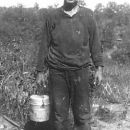 My Grandpa Rawls after a day in the coal mines