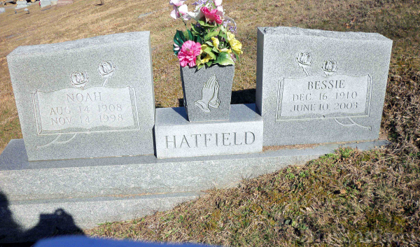 Noah and Bessie Wallace Hatfield, WV