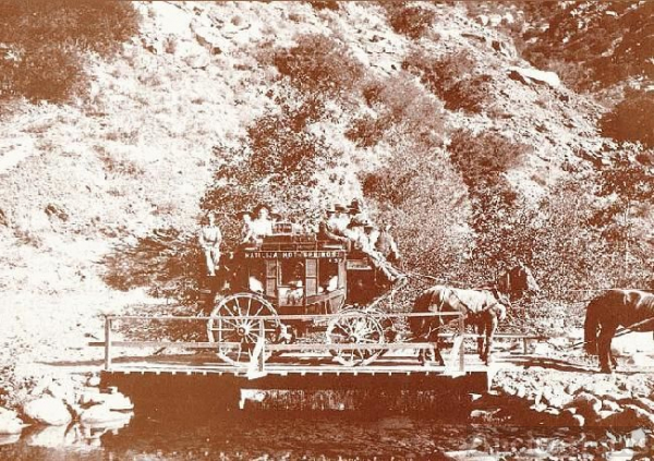 Matilija Stage in Ojai, CA 1800's
