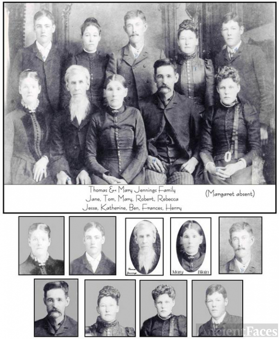 TOM & MARY JENNINGS FAMILY