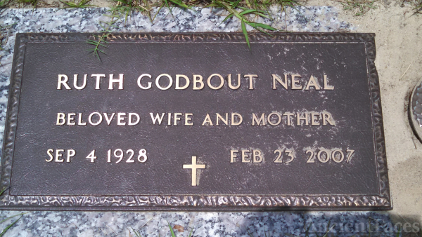 Ruth Godbout Neal grave