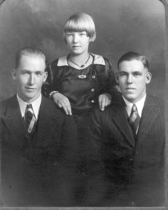 The Olson Children circa 1930