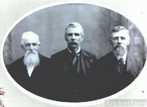 William James Berry with Brothers