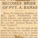 Wojtkiewicz/Banas Wedding Announcement