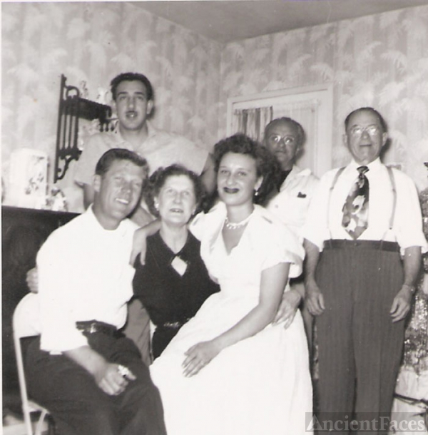 Doble Family, California 1950