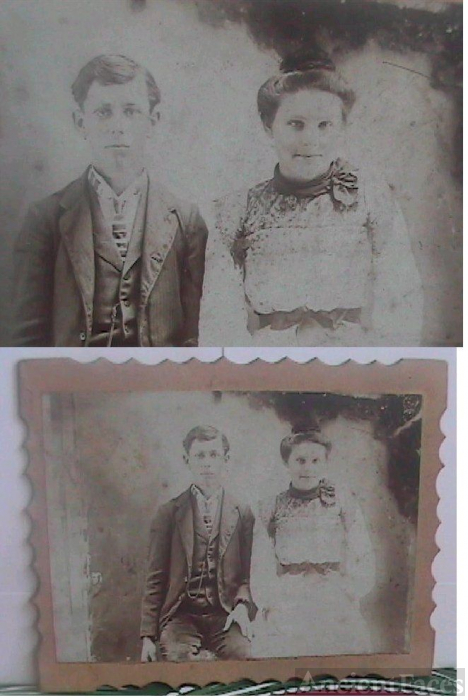 Elmer and Dorcas Tharp(Wedding?)