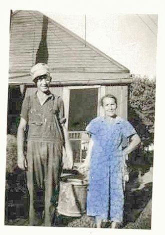 David Gilbert Poe & wife Annie Mae Knight