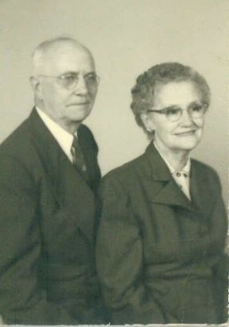 George Washington & Lyda Mae Teague Shepherd