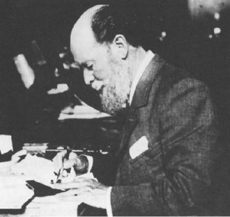 A photo of Peter Carl Fabergé