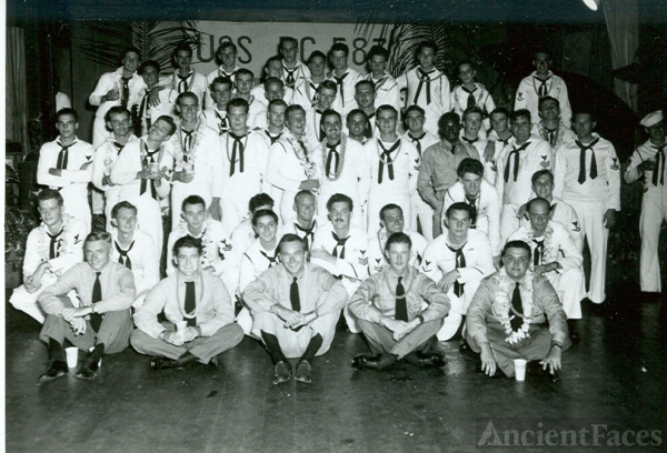USS PC 583 Crew Sep 1945