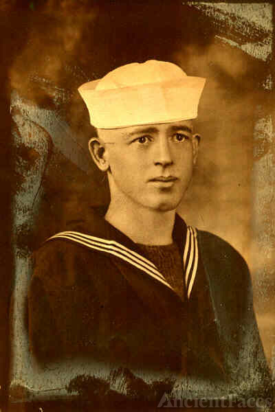Edwin Earnest Stephens 1918 WW1 USN