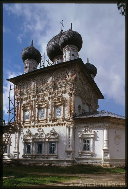 Church of St. Nicholas (1705), southwest view, Nyrob, Russia
