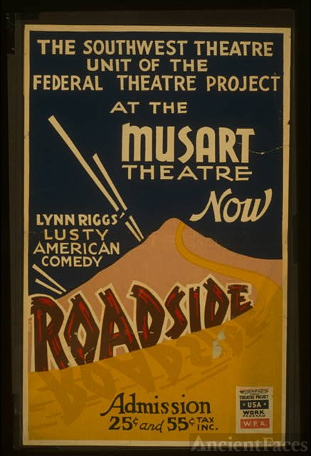 The Southwest Theatre Unit of the Federal Theatre Project...