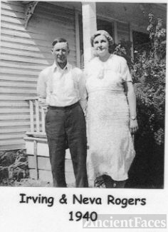 Irving and Neva (Pruden) Rogers