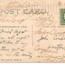Post card to John Coughlin