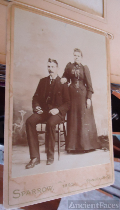 Phoenix, New York Unknown Couple 1893