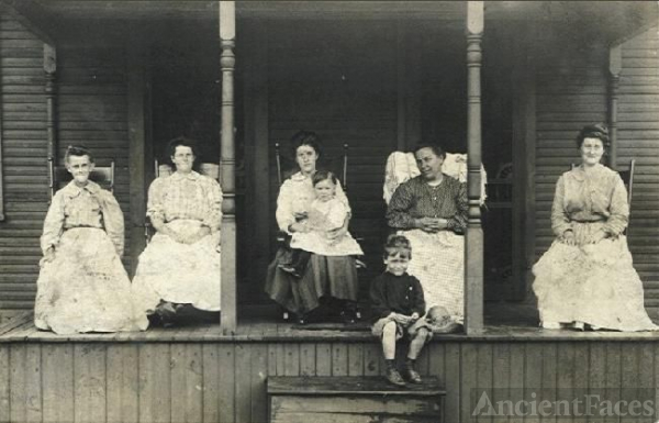 Ladies on Porch