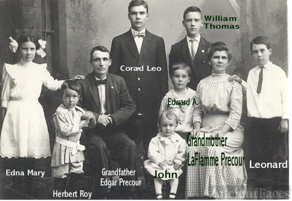 Precour Family of Oshkosh, Wisconsin