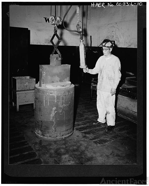 Uranium ingot